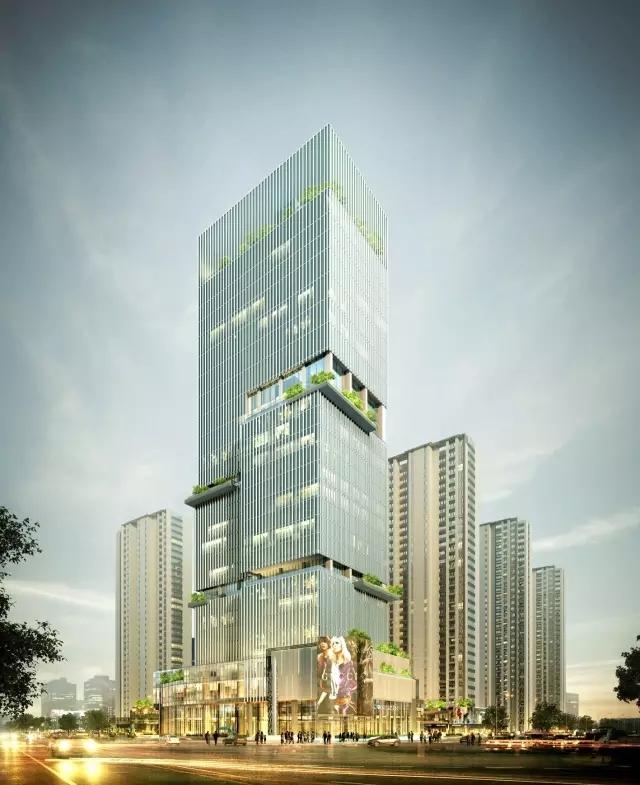 合肥万科金域华府项目五期商业写字楼 提名奖-公共建筑类
