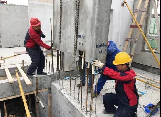 """﹥2018年度""""上海市装配式建筑示范项目""""——装配式复合模壳剪力墙体系的研发及应用"""