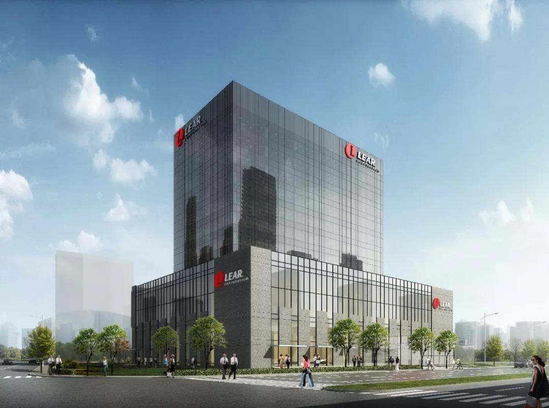 """﹥2018年度""""上海市装配式建筑示范项目""""——李尔亚洲总部大楼"""